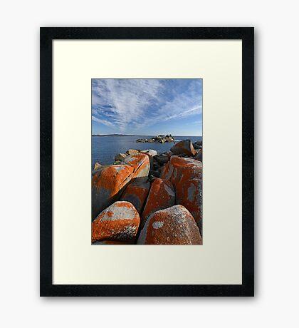 Bay of Fires 3 Framed Print