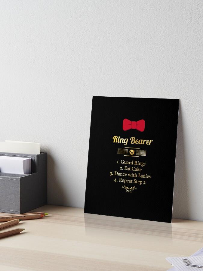 Ring Bearer Shirt Ring Bearer Gifts Ring Bearer Gifts For Boys Ring Bearer Kids Wedding Gift Idea Wedding Gift For Son Wedding Gift Boy