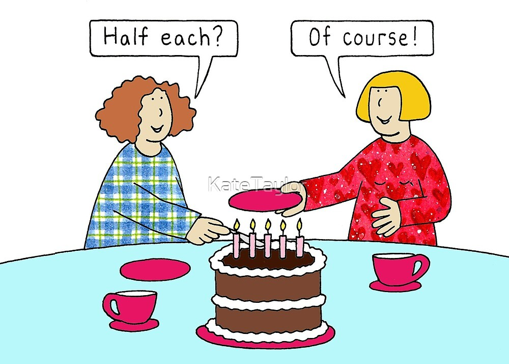 Mutual Joint Same Day Birthday Humor