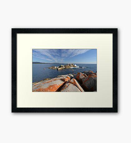 Bay of Fires Tasmania Framed Print