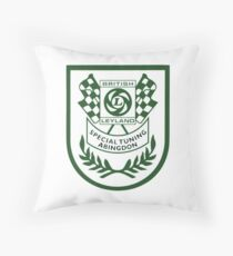 British Leyland Special Tuning Shield Throw Pillow
