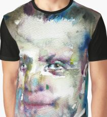 WERNER HEISENBERG - watercolor portrait Graphic T-Shirt