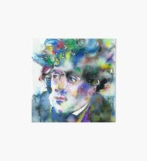 FRANCOIS-RENE DE CHATEAUBRIAND - watercolor portrait Art Board