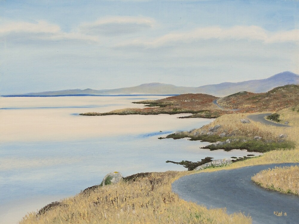 The Road To Luskentyre by Richard Paul