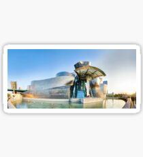 Guggenheim Bilbao Long Sticker