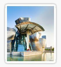 Guggenheim Bilbao Vertical Sticker