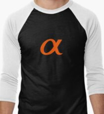 Sony Alpha Apparel Men's Baseball ¾ T-Shirt