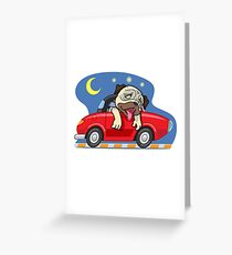 MOOTOO Sleepy Greeting Card