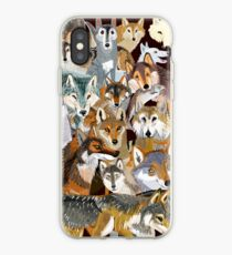Wolves o´clock (Time to Wolf) Vinilo o funda para iPhone