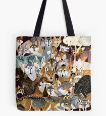 Wolves o´clock (Time to Wolf) Bolsa de tela