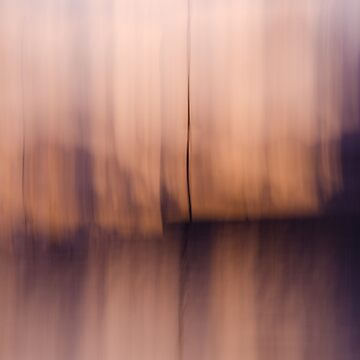 Rose Gold Abstract Horizon by discreetpeacock
