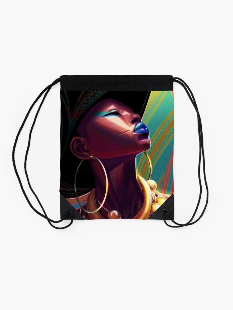 Alternate view of awen Drawstring Bag
