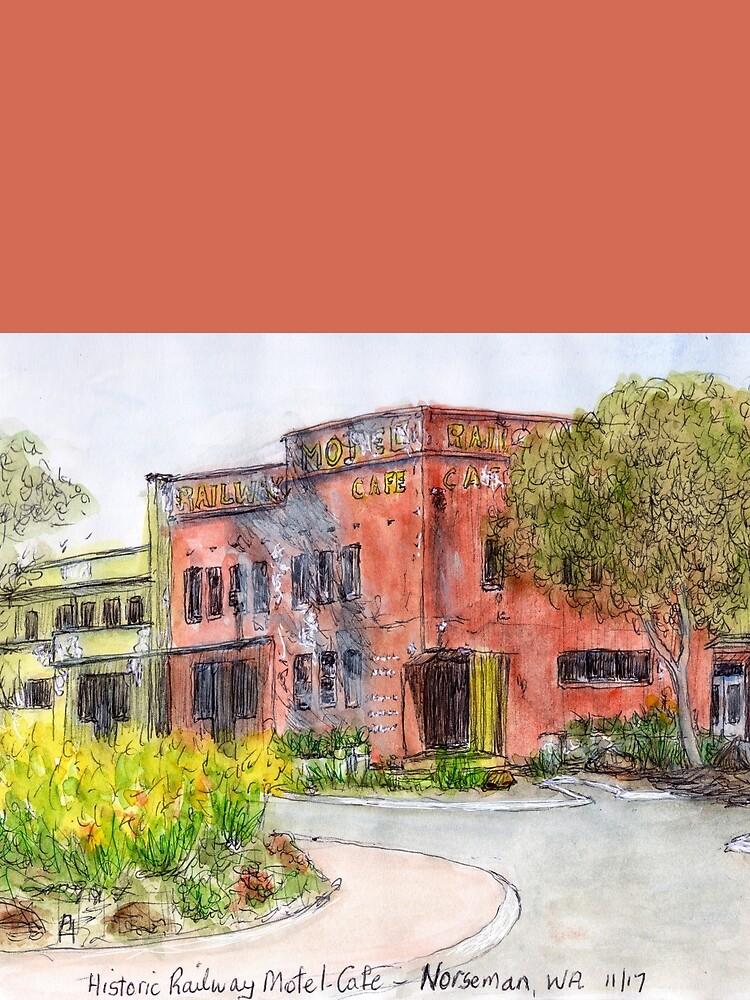 Historic Railway Hotel, Norseman, WA, Aus. by artenjoyment