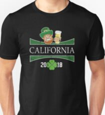 St Patricks Day 2018 California St Patricks Tee Shirts Unisex T-Shirt