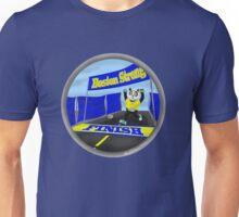 Boston Marathon Panda Finish Unisex T-Shirt
