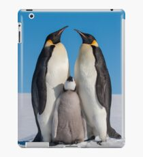 Emperor Penguins and Chick - Snow Hill Island iPad Case/Skin
