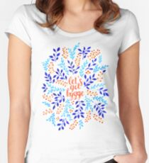 Let's Get Hygge Women's Fitted Scoop T-Shirt