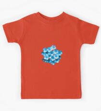 Many Blue Flowers Kids Clothes