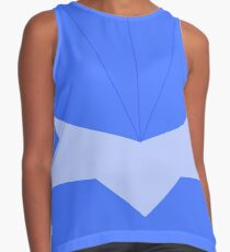 Make it Blue! Cosplay Contrast Tank