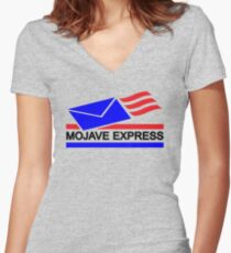 Mojave Express Women's Fitted V-Neck T-Shirt