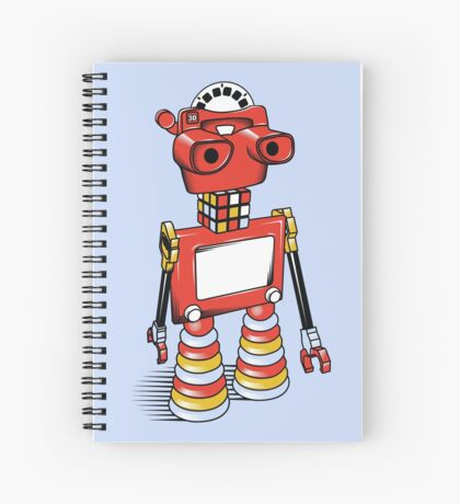ViewBot 3000 Spiral Notebook