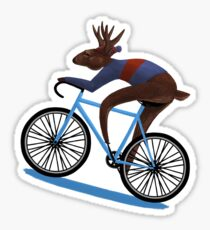 'Tis the Season to be Cycling! Sticker