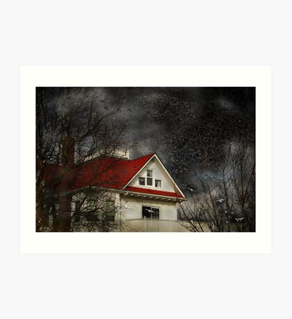 fawcett's farmhouse Art Print