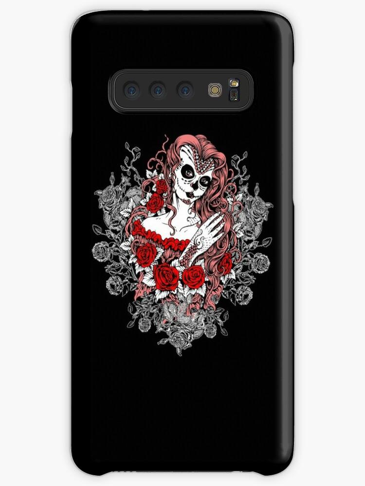 'Santa Muerte Art Design Tattoo Death Mrs Roses' Case/Skin for Samsung  Galaxy by anziehend