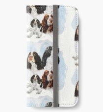 English Springer Spaniel Medley iPhone Wallet/Case/Skin