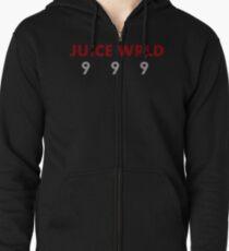 Juice WRLD 9 9 9 Zipped Hoodie