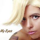 Look Into My Eyes Portrait Series 04 by Tim Miller