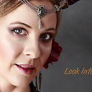 Look Into My Eyes Portrait Series 07 by Tim Miller