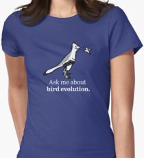 Ask Me About Bird Evolution Women's Fitted T-Shirt