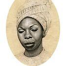 Queen Nina Simone  by Markus Kunschak