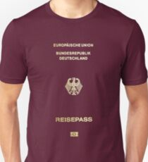 Deutsch Passdecke Slim Fit T-Shirt