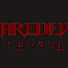Daredevil + Braille by fangeek