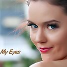 Look Into My Eyes Portrait Series 10 by Tim Miller