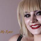 Look Into My Eyes Portrait Series 13 by Tim Miller
