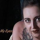Look Into My Eyes Portrait Series 14 by Tim Miller