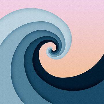 Fibonacci Wave by zaxart