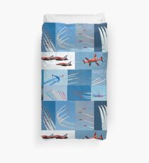 Red Arrows 2014 - 50 Display Seasons Duvet Cover