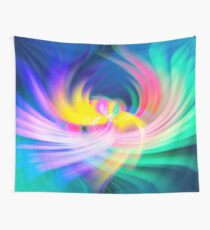 Colour Cocaine Phoenix Wings Twirl Wall Tapestry