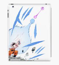 Dragon ball goku kamehameha iPad Case/Skin