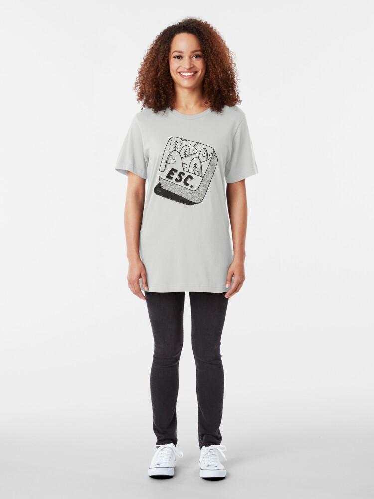 Alternate view of Escape Slim Fit T-Shirt