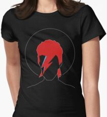 David Bowie Tribute Women's Fitted T-Shirt
