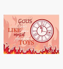 Hades Ouat Quote Photographic Print
