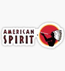 American Spirit Logo Sticker
