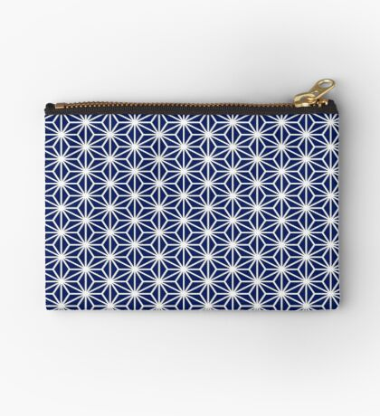 Geometric Pattern Japanese  Zipper Pouch