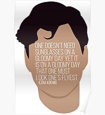 Ezra Koenig Sunglasses Poster