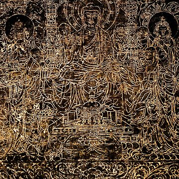 Buddhist Carving by depsn1